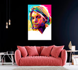 Kurt Cobain Abstract Portrait
