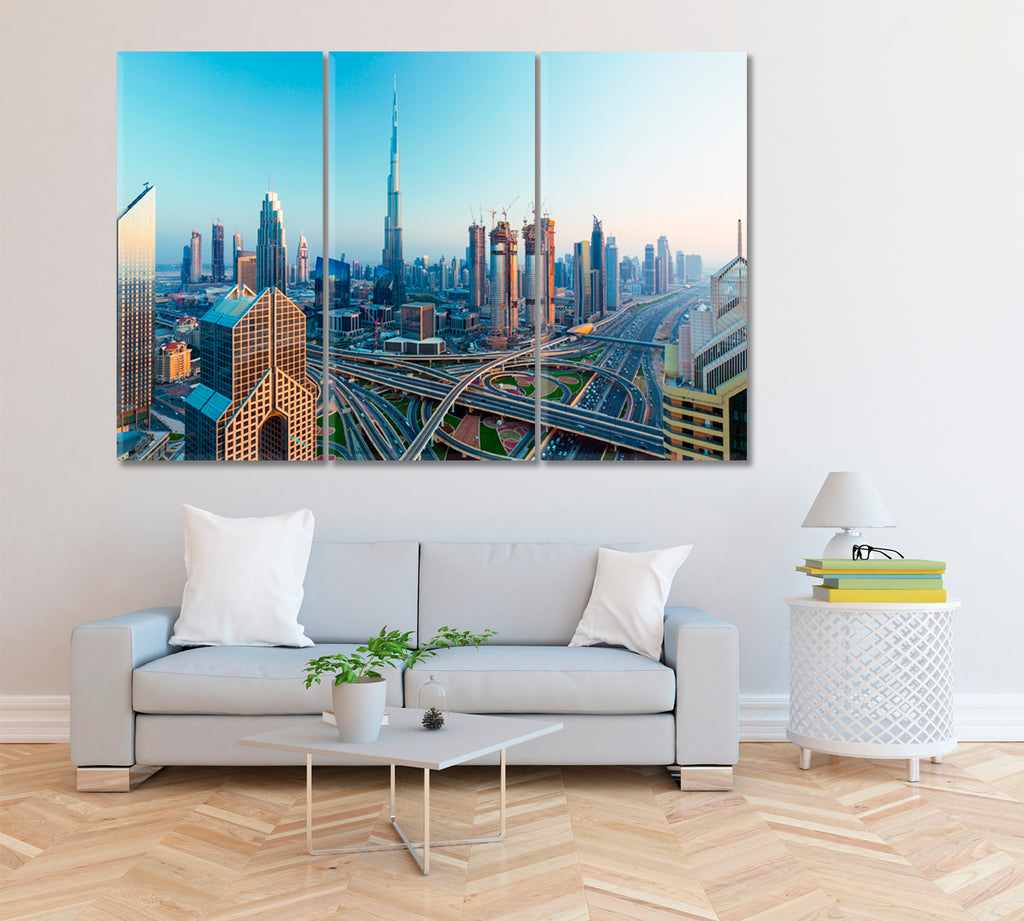 Dubai City Skyline United Arab Emirates