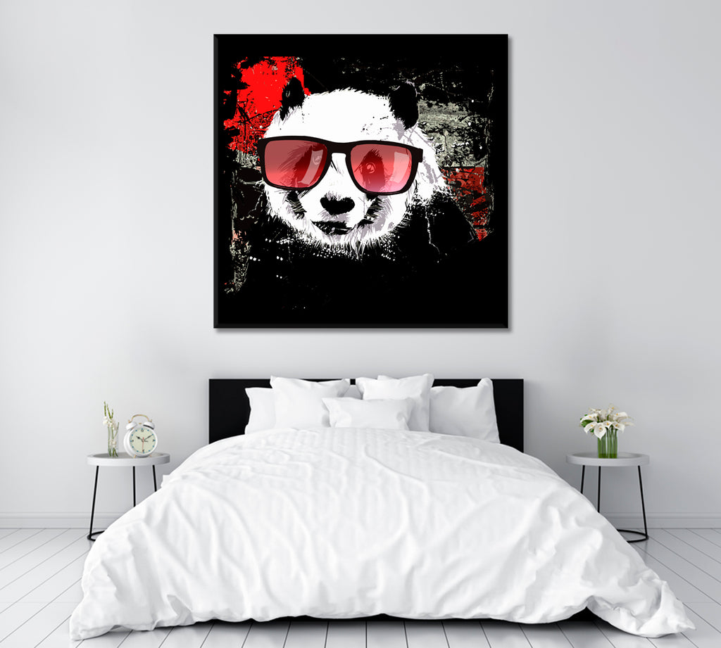 Panda with Glasses