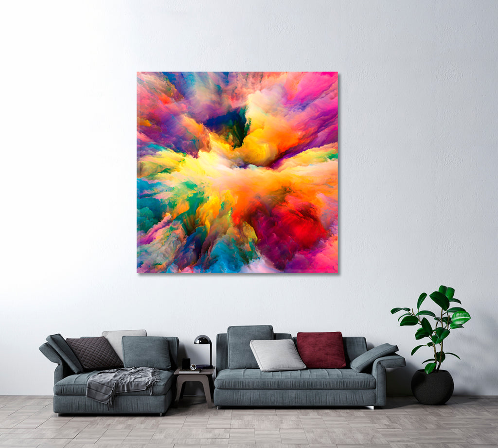 Abstract Colorful Clouds