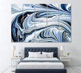 Abstract Liquid Swirls of Marble