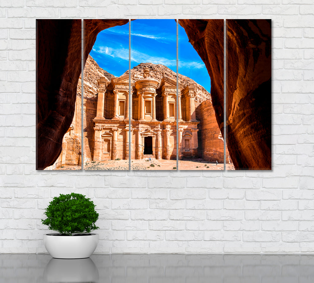 Ad Deir Monastery in Ancient City Petra Jordan