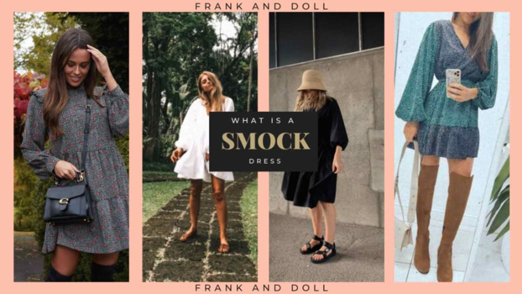 What is a Smock Dress?... How to Style it & Why everyone is obsessed with it!