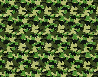 BLACK DINOSAUR CAMO ANTIMICROBIAL KIDS FACE MASK-FACE MASKS-MODE-Couture-Boutique-Womens-Clothing