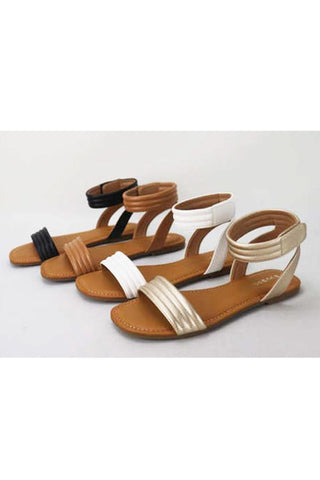 JET SET SANDAL IN TAN-SANDALS-MODE-Couture-Boutique-Womens-Clothing