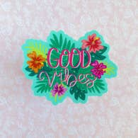 GOOD VIBES VINYL STICKER DECAL-Sticker/Decal-MODE-Couture-Boutique-Womens-Clothing