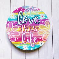 LOVE THIS LIFE LARGE CIRCLE MAGNET-MAGNET-MODE-Couture-Boutique-Womens-Clothing