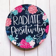 RADIATE POSITIVITY LARGE CIRCLE MAGNET-MAGNET-MODE-Couture-Boutique-Womens-Clothing
