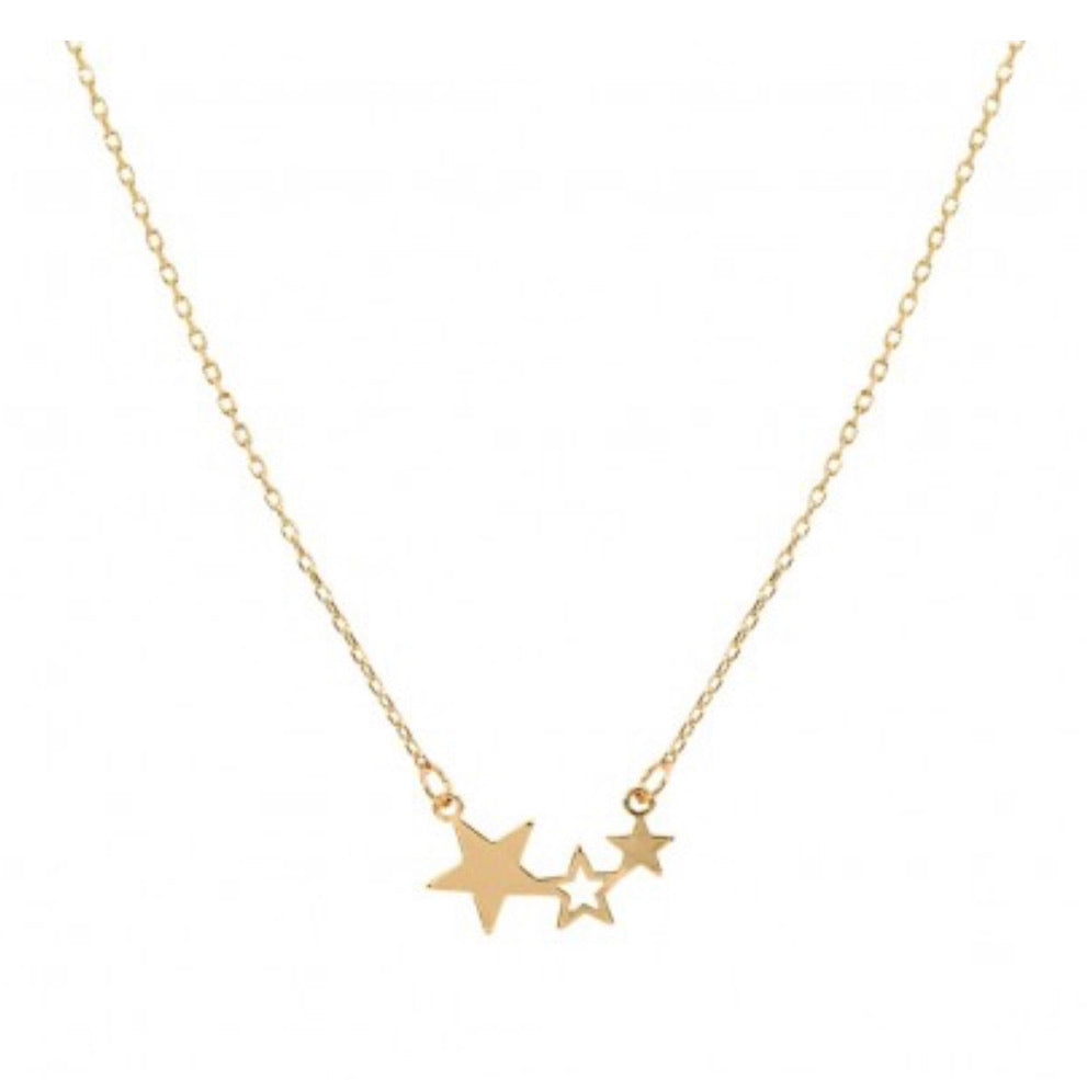 OH MY STARS NECKLACE IN GOLD-JEWELRY-MODE-Couture-Boutique-Womens-Clothing