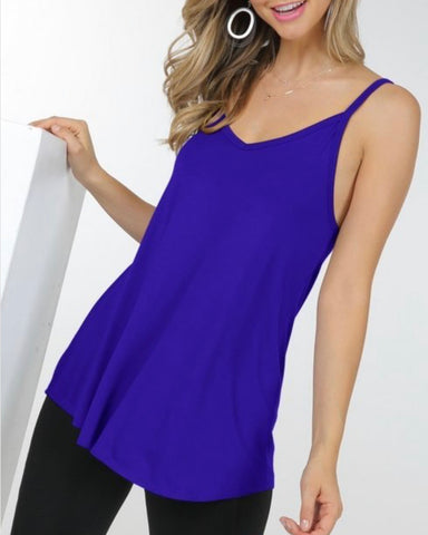 SWEET SUMMER NIGHTS CAMISOLE TOP (MORE COLORS AVAILABLE)-Tops-MODE-Couture-Boutique-Womens-Clothing