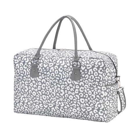 DOWNTOWN BOUND TRAVEL BAG IN SMOKEY LEOPARD-MODE-Couture-Boutique-Womens-Clothing