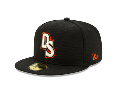 Delmarva Shorebirds New Era 5950 On-Field Fitted BP Cap
