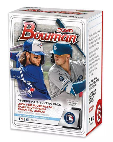 2020 Bowman Baseball Cards - Blaster Box