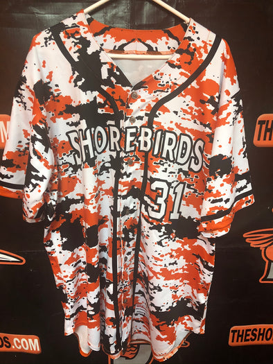 Wilson Authentic Orange Friday Digital Camo Jersey