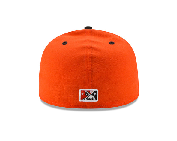 Delmarva Shorebirds New Era 5950 On-Field Fitted Alternate Orange Friday Cap