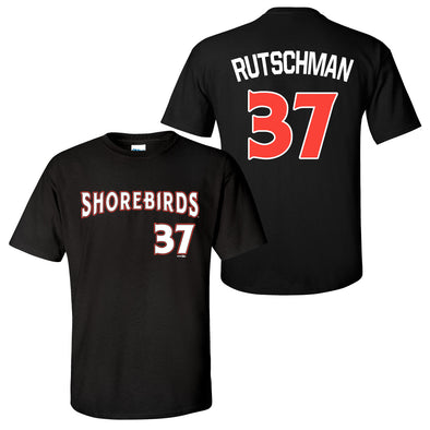 Delmarva Shorebirds Adley Rutschman Replica Jersey T-Shirt #37