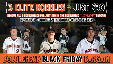Black Friday Bobblehead 3 Pack - Mancini, Rutschman, Rodriguez