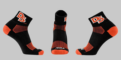 TCK Shorebirds Black Ankle Socks