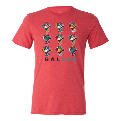 Los Gallos de Delmarva 108 Stitches Andy T-Shirt