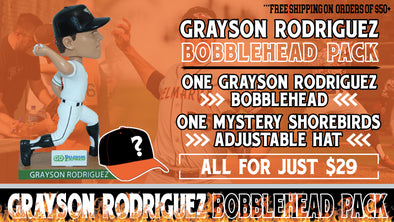 PRE-SALE Grayson Rodriguez Bobblehead Package