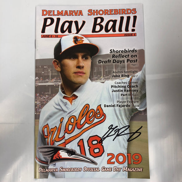 Delmarva Shorebirds Mystery Autograph Break #4 - One Spot