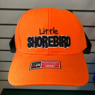 Infant Little Shorebird Orange Adjustable Hat