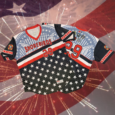 Wilson Authentic 4th of July Jersey