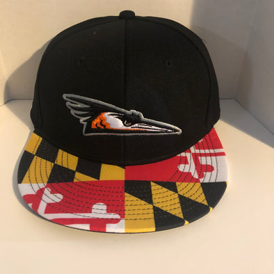 Maryland Flag Primary Logo Snapback Hat