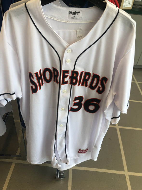 Delmarva Shorebirds Game Worn Jerseys