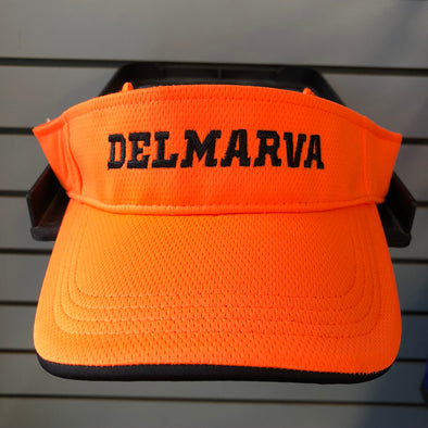 Orange Mesh Adjustable Visor