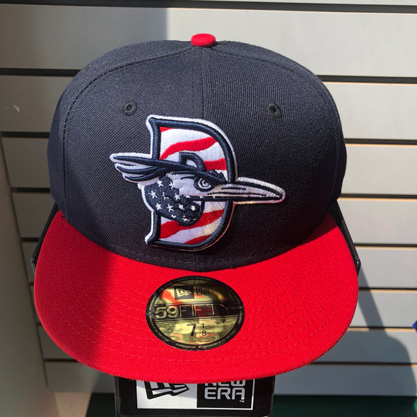New Era 5950 Red White and Blue Patriotic Fitted Hat