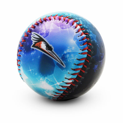 Shorebirds Primary Logo Stars Baseball