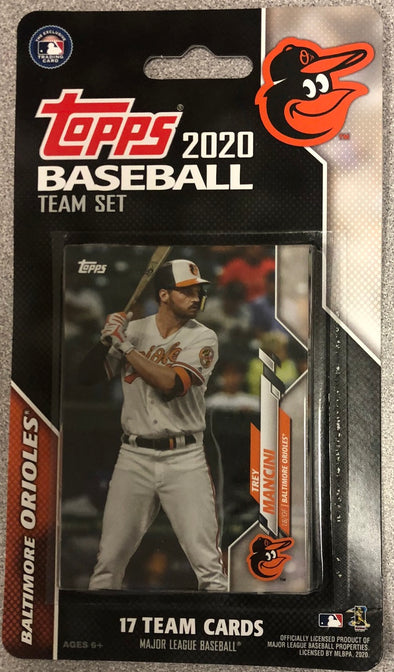 2020 Topps Baltimore Orioles Team Set