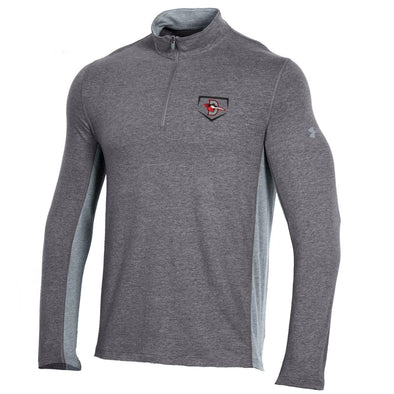 PRE-SALE! Under Armour Men's Carbon Heather Charged Cotton 1/4 Zip