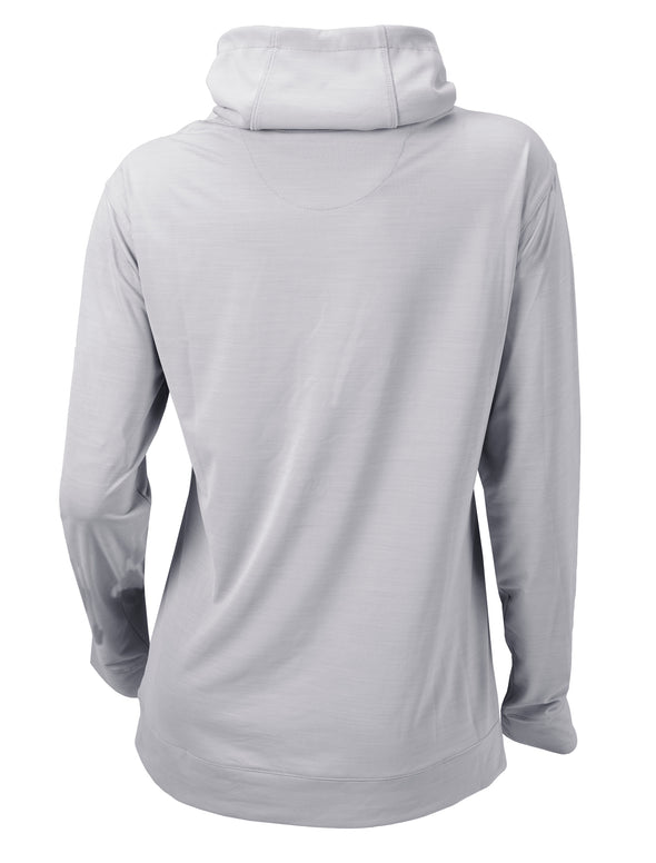 Women's Columbia Golf Omni-Wick Penny Pullover - Cool Grey