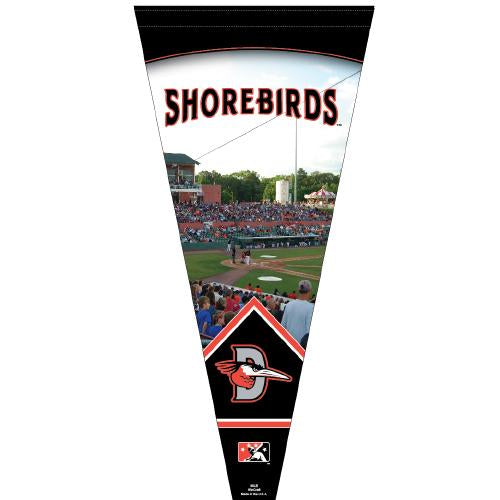 Delmarva Shorebirds Premium Pennant