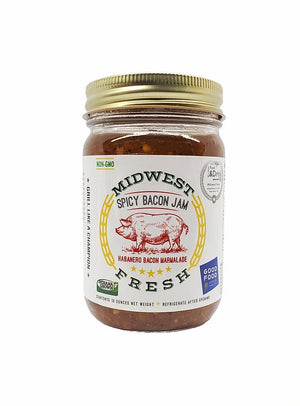 Midwest Fresh Spicy Bacon Jam