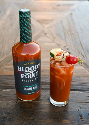 Bloody Point Mixing Co. Coastal Mary - Clam Juice & Tomato