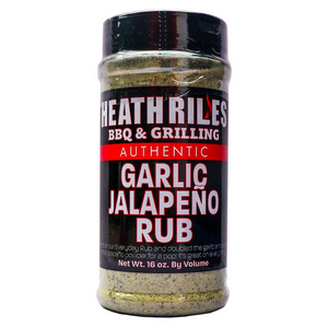 Heath Riles Garlic Jalapeño Rub