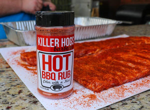 Killer Hogs Hot BBQ Rub