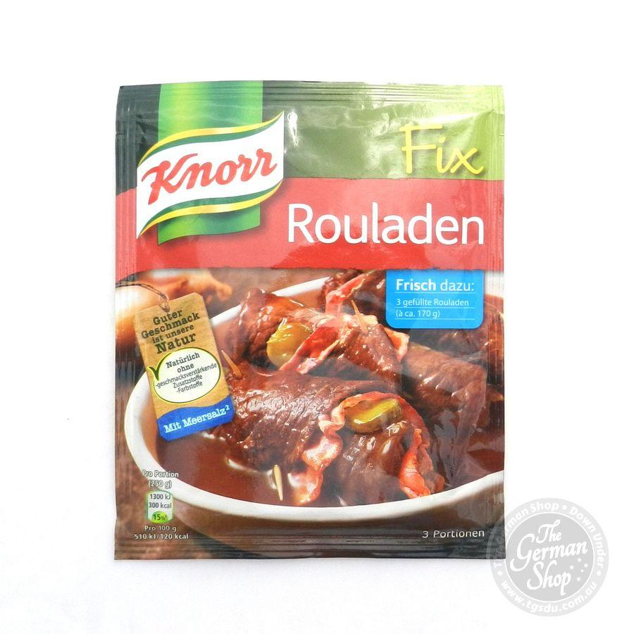 Fix Rouladen from Knorr