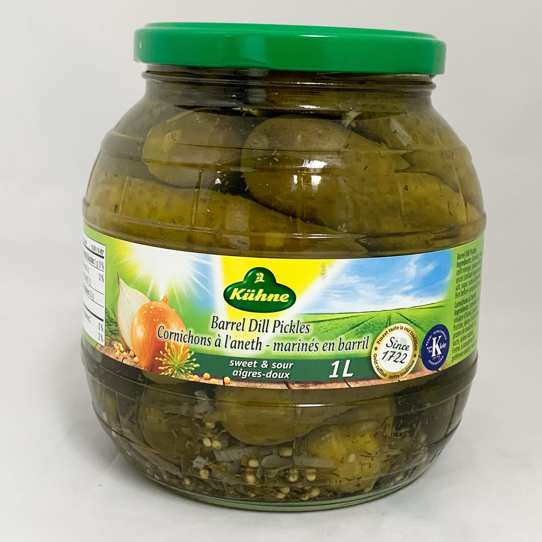 Barrel Dill Pickles