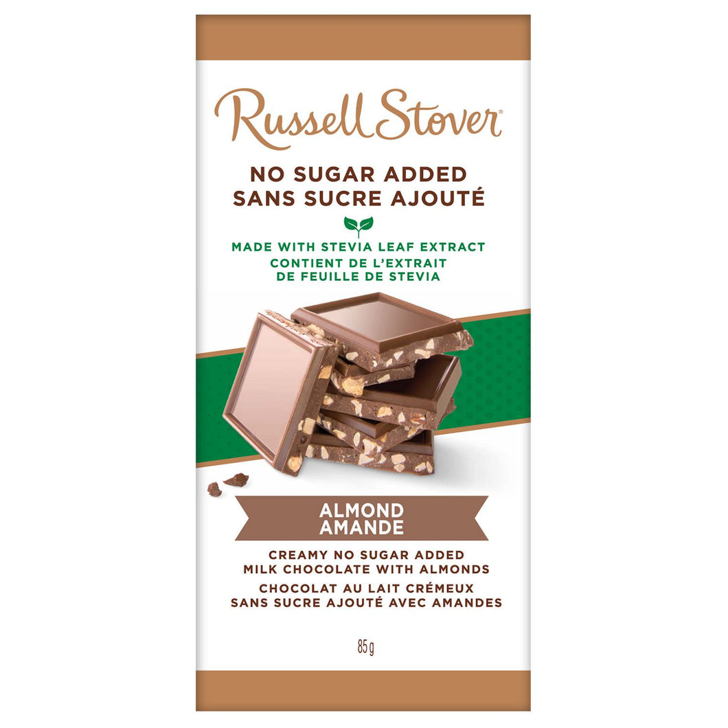 No Sugar Added Milk Almond Bar