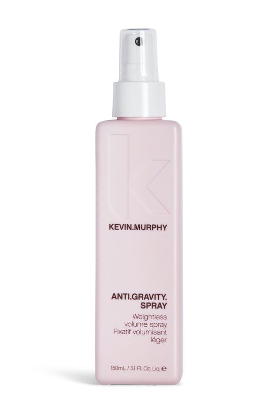 Kevin Murphy, Anti.Gravity.Spray is onze gewichtloze volume spray. Maakt het makkelijk om volume in uw haar te krijgen tijdens het brushen.