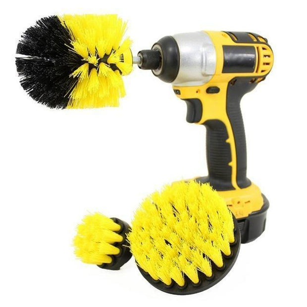 Power Scrubber Drill Brush - 3 Brushes