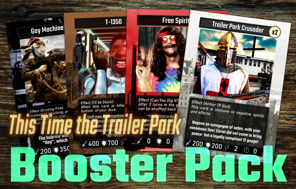 Booster Pack- This Time the Trailer Park