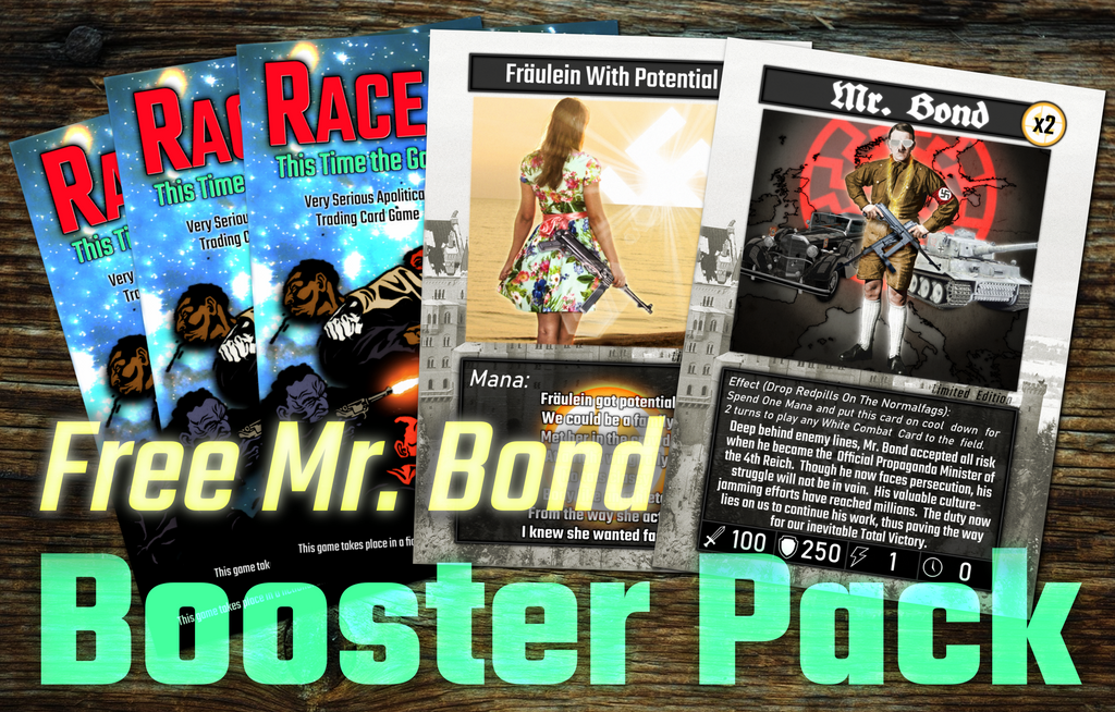 Booster Pack- Free Mr. Bond