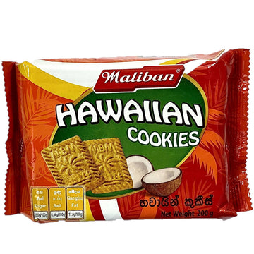 Coconut cookie Hawaiian Maliban cookies 200g