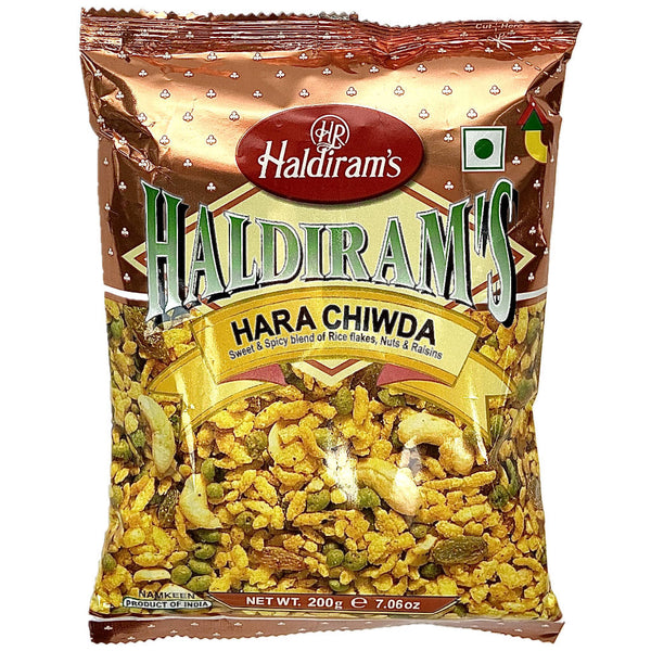 apéritif hara chiwda sweet and spicy blend haldirams namkeen indien