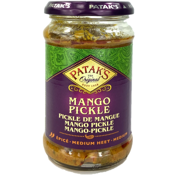mango pickle de mangue epicé patak's